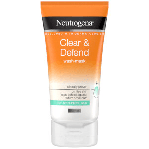 Neutrogena® - Neutrogena Clear and Defend 2 in 1 Wash Mask
