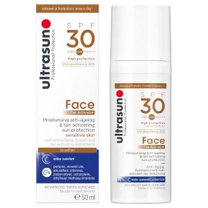 Ultrasun - Tan Activator for Face SPF30