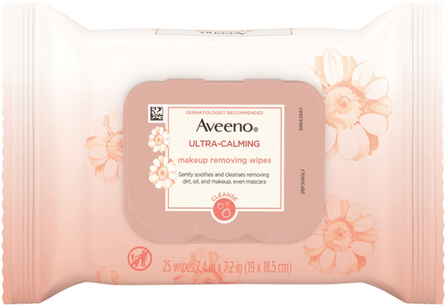 Aveeno - Ultra-Calming Makeup Removing Wipes