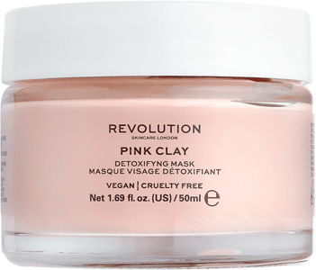 REVOLUTION SKINCARE - Pink Clay Detoxifying Face Mask