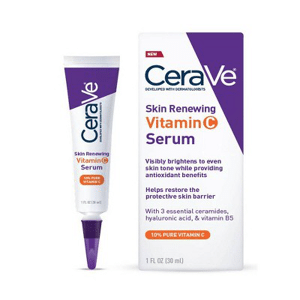 CeraVe - Skin Renewing Vitamin C Face Serum With Hyaluronic Acid