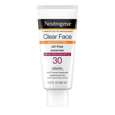 Neutrogena - Clear Face Liquid Sunscreen Lotion