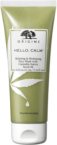 Origins - Hello, Calm Face Mask with Cannabis Sativa Seed Oil From Hemp