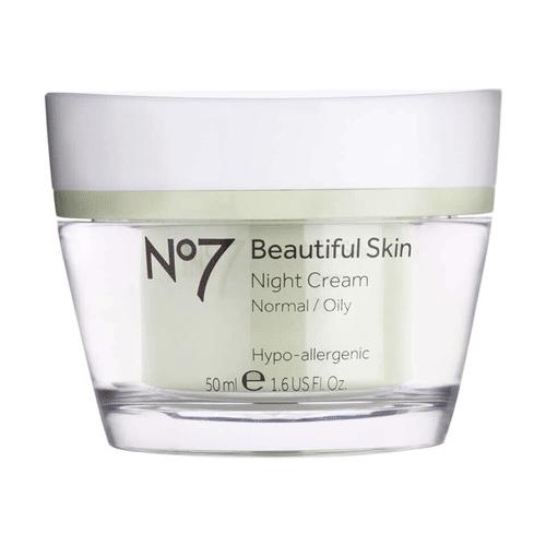 No7 - Beautiful Skin Night Cream - Normal to Oily