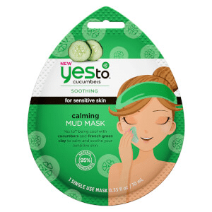 yes to - Cucumbers Calming Mud Mask