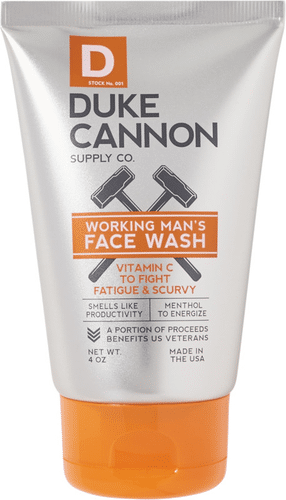 Duke Cannon Supply Co - Working Man's Face Wash