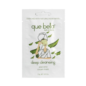Que Bella - Deep Cleansing Aloe Vera Cream Face Mask