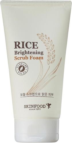 Skinfood - Rice Brightening Scrub Foam