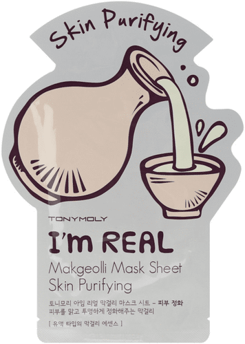 TONYMOLY - I'm Real Makgeolli Mask Sheet