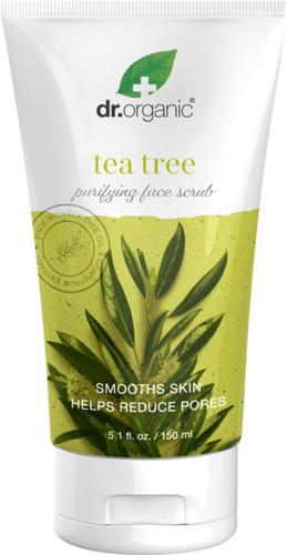 Dr.Organic - Tea Tree Purifying Face Scrub