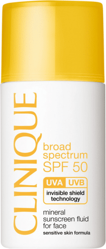 Clinique - Broad Spectrum SPF 50 Mineral Sunscreen Fluid For Face