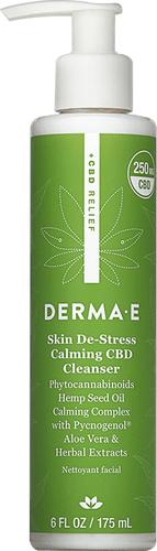 Derma E - Skin De-Stress Calming CBD Cleanser